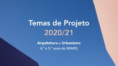 Presentation of the themes of the 4th and 5th year of MIARQ for the academic year 2020/21