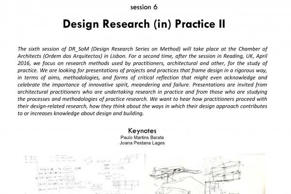 Design Research Series on Methods